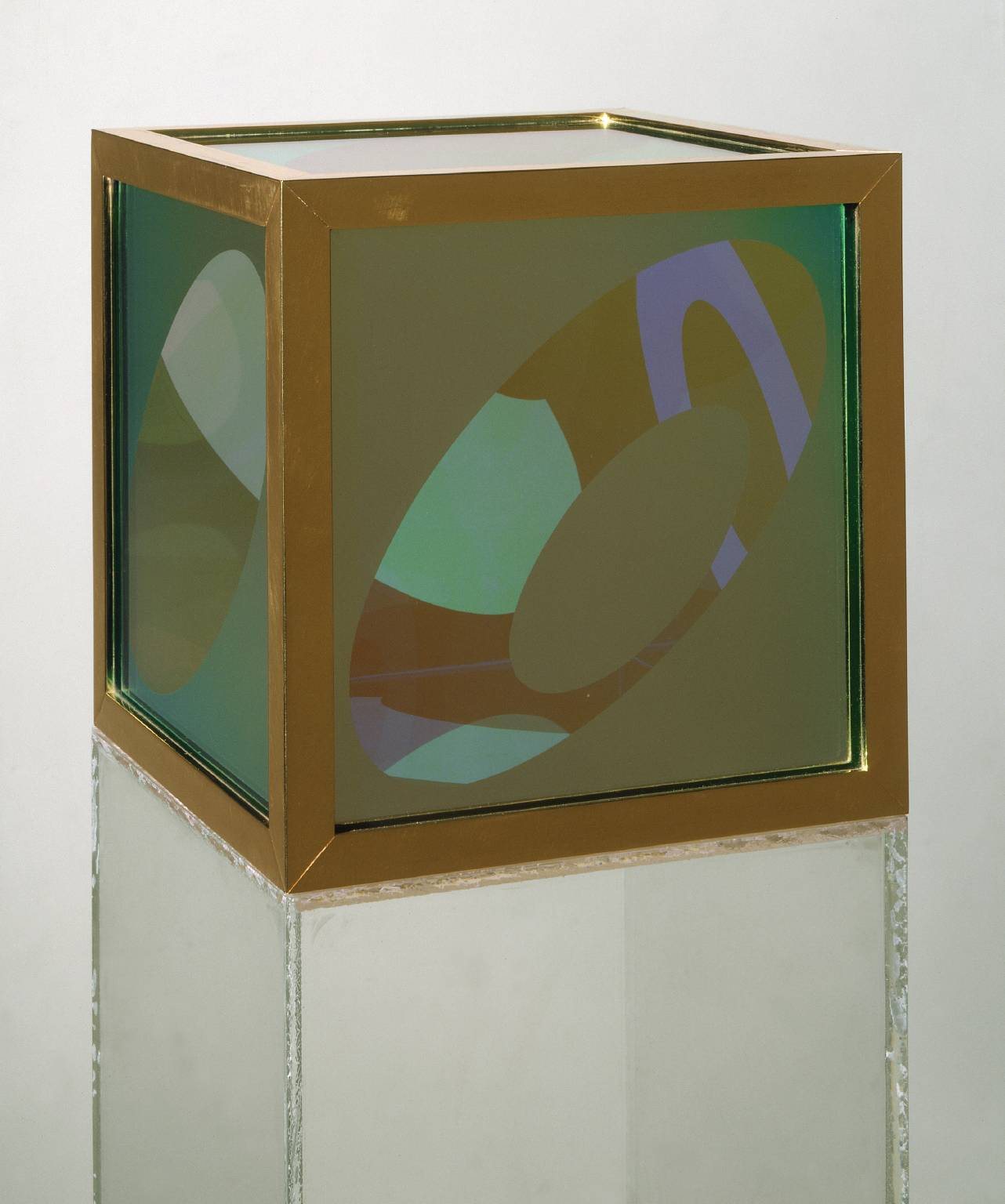 Untitled 1964 Larry Bell born 1939 Purchased 1972 http://www.tate.org.uk/art/work/T01696